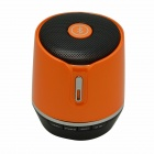 Mini Portable Wireless Bluetooth v3.0 Stereo Speaker w/ TF / FM / Microphone - Orange