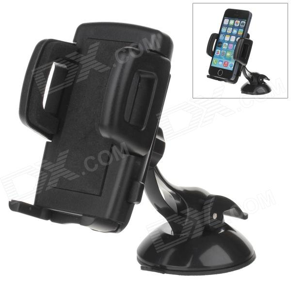 H60 + C47 360 Degree Rotation Universal Holder Mount Bracket w/ Suction Cup - Black