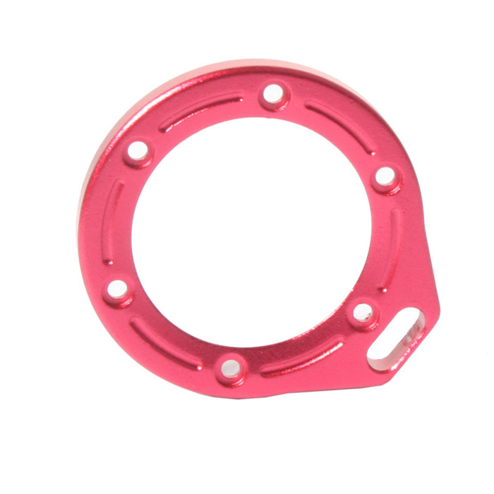 DUALANE Aluminum Alloy Lens Ring with Screwdriver for Gopro Hero2 - Red