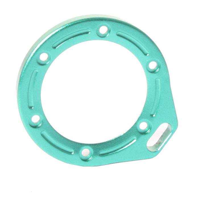 DUALANE Aluminum Alloy Lens Ring with Screwdriver for Gopro Hero2 - Green