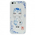 Colorfilm Cute 3D Chinese Zodiac Horse Pattern Protective PC Back Case for Iphone 5 / 5s - White