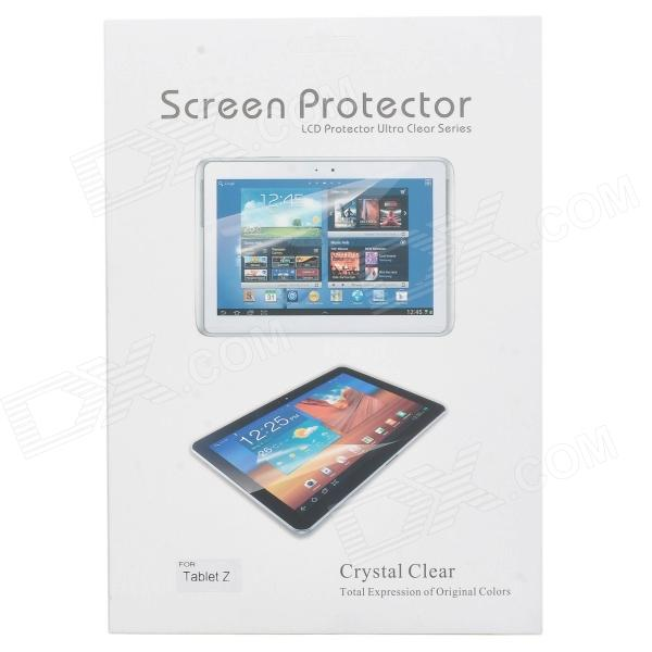 High Quality PET Screen Protector for 10.1'' Sony Xperia Tablet Z - Transparent (3PCS) high quality pet screen protector for samsung i9100 transparent