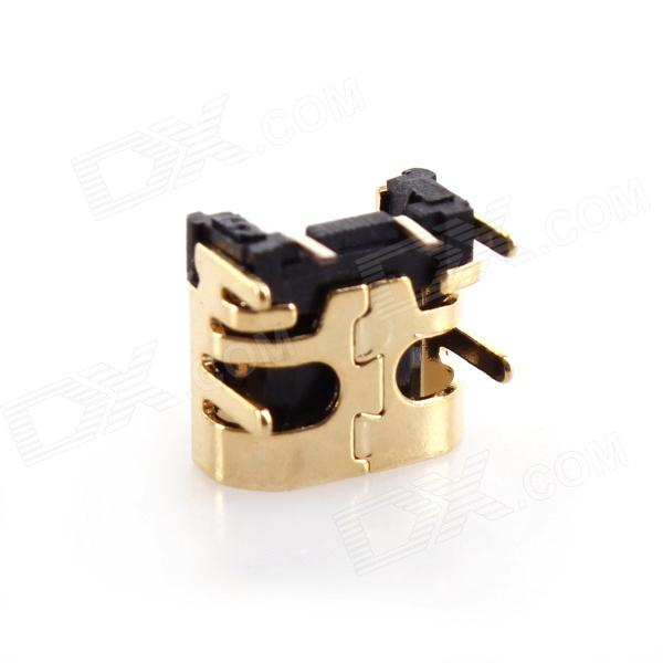 008 C-20 Power Supply Charging Socket Module for NDS Lite - Golden touch screen replacement module for nds lite