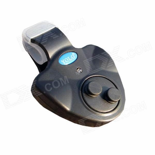 Ilure Electronic Cushion Fishing Alarm Device - Black (3 x LR44)