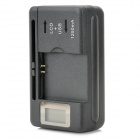 2450mAh Li-ion Battery + LCD Display US Plug Charger + EU Plug Adapter for Samsung S3 Mini / i8160
