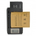 2450mAh Battery, LCD Display US Plugs Charger for Samsung S3 Mini i8160