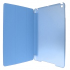 ENKAY ENK-3344 3-Fold PU Leather Case Stand w/ Auto Sleep Cover for Retina Ipad MINI - Sky Blue