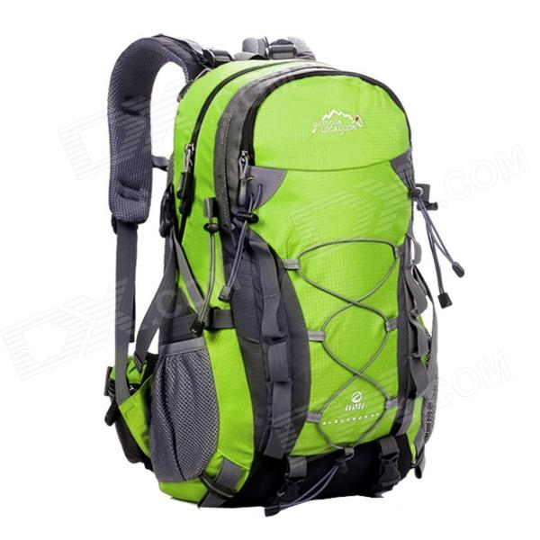 Locallion SPO-443 Outdoor Multi-function Backpack Bag - Green + Grey (50L) locallion h 012 outdoor sports multifunction nylon backpack bag army green
