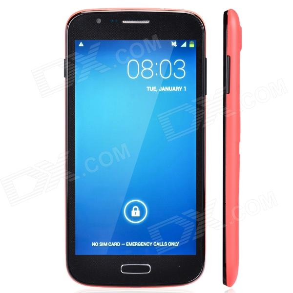JELLY BEAN SK2 Dual Core Android 4.2.2 WCDMA Bar Phone w/ 5.5, Wi-Fi, Camera - Red + Black fly ff281