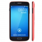 "JELLY BEAN SK2 Dual Core Android 4.2.2 WCDMA Bar Phone w/ 5.5"", Wi-Fi, Camera - Red + Black"