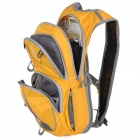 Locallion Outdoor Multi-function Backpack w/ Water Bag Compartment - Yellow