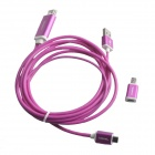 S-M14 Micro USB to HDMI 1080P MHL Cable for Samsung Galaxy S4 / S3 / Note 3 / Note 2 - Deep Pink