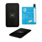 X5 Qi Standard Mobile Wireless Power Charger + Samsung Galaxy S4 Wireless Charger Receiver - Black