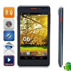 Utime G7 MTK6589 Quad-core Android 4.2 WCDMA Bar Phone w/ 4.5' QHD, GPS, RAM 1GB, ROM 4GB - Black