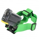 DUALANE Fashionable Integrated Fixed Headband Camera Accessory for SONY AS15 / AS30 - Green
