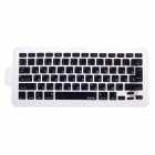 XSKN 799223332H05 Russian Protective Keyboard Cover for Apple Macbook Laptops - Black