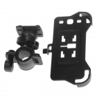 M01 360 Degree Rotation Bracket w/ Back Clamp for Samsung Galaxy S3 i9300 - Black