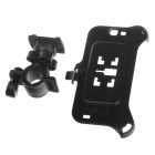 M01 360 Degree Rotation Bracket w/ Back Clamp for Samsung Galaxy Note 2 N7100 - Black