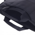 "Tee 14"" Shock-Proof Water Resistant One-shoulder Sleeves Bag w/ Handle for Notebook - Black"