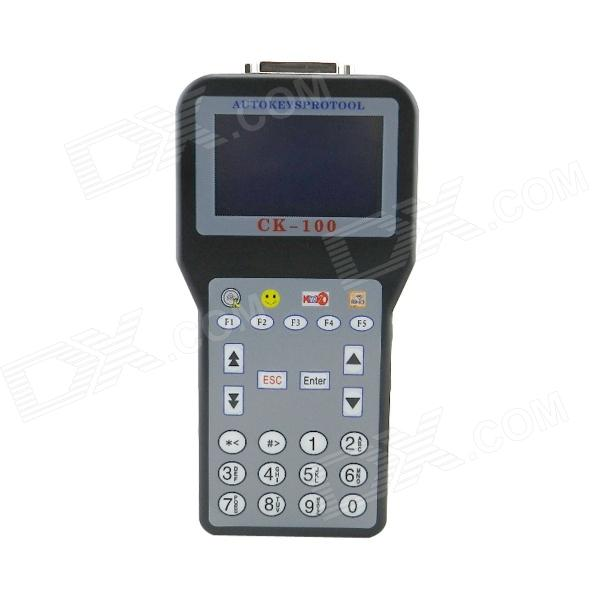 CK100 5.5 LCD Key Programmer / Key Programmer Matching Instrument - Black + Gray spectral matching of earthquake gm using wavelets and broyden updating
