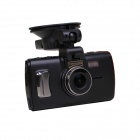 "Sunty A88 3.0"" TFT LCD 3.0 MP 170 Degree Wide Angle Super Full HD Car DVR Camcorder - Black"