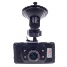 "HD-159 2.7"" TFT 5.0 MP CMOS 170 Degree Wide-angle Lens Car Digital Video Camcorder - Black + Silver"