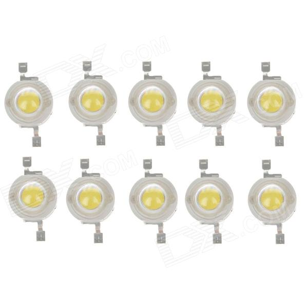 WT-JN1 S3 1W 100lm 6200K LED White Modules - Yellow + White (10 PCS)