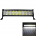 60 Degree Flood Beam 120W 8400lm 6000K 40-LED White Light Car Roof Light - Black (DC 10~30V)
