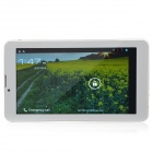 "MD706 7.0"" Android 4.1 Dual Core Tablet PC w/ 512MB RAM, 4GB ROM, Wi-Fi, Camera, GPS - White + Red"