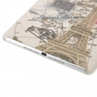 A-336 Eiffel Tower Style Protective PC Back Case for Ipad AIR - Multicolor