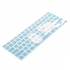 "XSKN Kittens Protective Keyboard Cover Skin Guard for MacBook Pro 13"", 15"", 17"" - Blue + White"