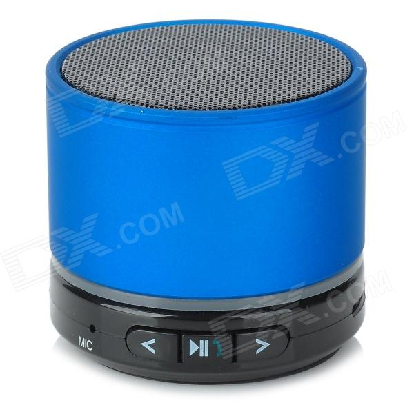 S11 Mini Bluetooth V3.0 Speaker w/ Mic / TF Slot - Green + White