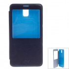 iPai HS3238 Stylish Protective PU Leather Case w/ Visual Window for Samsung Galaxy Note 3 - Black