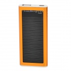 S-What Solar Powered 1200mAh External Battery Charger Power Bank for Iphone / Ipod - Golden