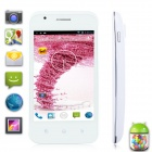 "G'FIVE F600 Android 2.3.7 WCDMA Bar Phone w/ 4.0"",  Wi-Fi, GPS, 3G, 4GB ROM - White"