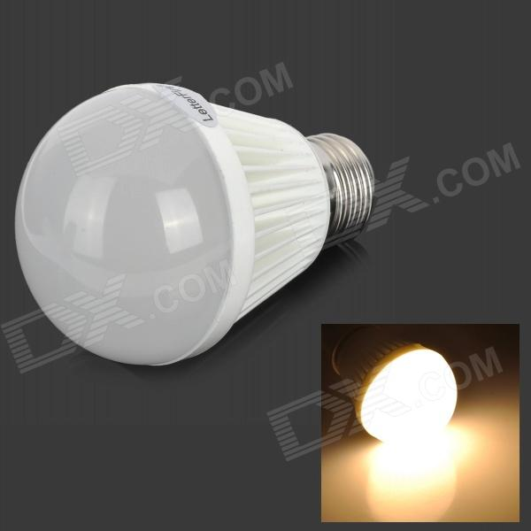 LetterFire G-009 E27 9W 400lm 3000K 40-SMD 2835 LED Warm White Light Bulb (AC 85~265V) honsco e27 5w 400lm 3000k 84 smd 2835 led warm white light bulb white silver ac 85 265v