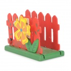 MPJ Countryside Fence Style Wooden Name Card Holder Clip