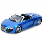 AK AK56070 2-CH Audi R8 Roadster 1:18 R/C Car Toy - Blue