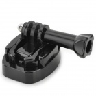 DIY PC + Stainless Steel Tripod Fastener Adapter for GOPRO Hero 4 - Black