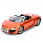 AK AK56070 2-CH Audi R8 Roadster 1:18 R/C Car Toy - Orange