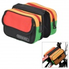 ROSWHEEL Convenient Durable 600D Dacron Top Tube Bag for Bicycle - Multicolored