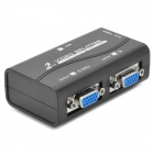 1-Em 2-Out VGA HD Video Splitter - preto + branco + Multi-ColoVermelho