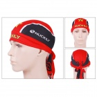 NUCKILY BD3546 Stylish Outdoor Bike Riding Head Scarf - Red + Black