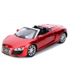 AK AK56070 2-CH Audi R8 Roadster 1:18 R/C Car Toy - Red