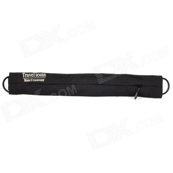 Travel icons TF053N  Close-Fitting Anti-Theft Waist Pack - Black