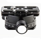 C1657 360 Degree Rotatable Quick Release Plate Panorama Head - Black