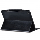 Protective PU Leather Case w /handbag/Peripherals pockets for Ipad AIR - Black