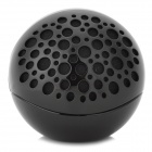 Ball Style Bluetooth V3.0 Hands-free Stereo Speaker w/ Microphone - Black