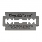 Yingjili Stainless Steel Dual Blades - Silver (5 x 20 PCS)