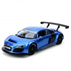 AK AK56087 1:14 2-CH 27MHz R8 LMS R/C Racing Car - Blue